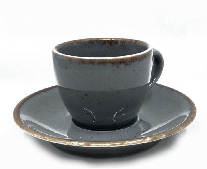 Espresso Set 90ml - Dark Grey