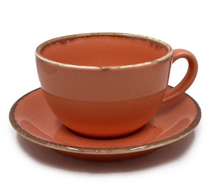 Coffee/Tea Set 340ml - Orange