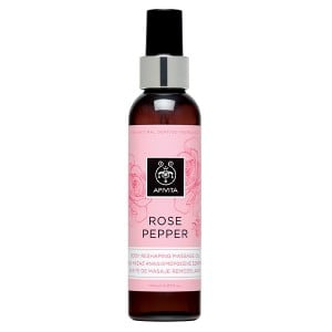 Apivita Body Oil Rose Pepper 150ml