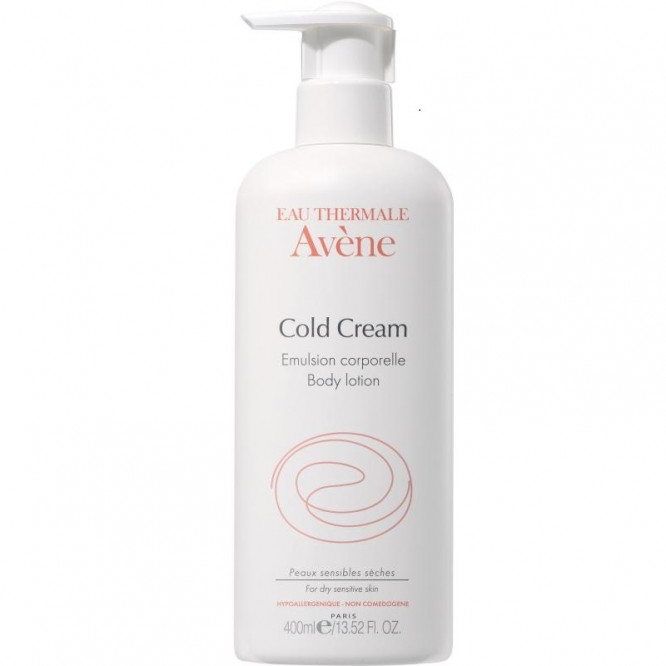 Avene Cold Cream Body Emulsion 400ml