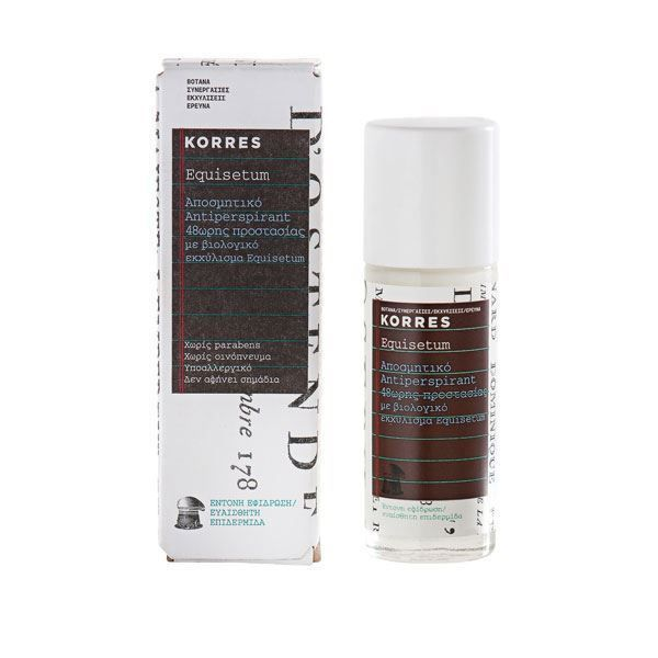 Korres Antipers Equisetum Deodorant 30ml