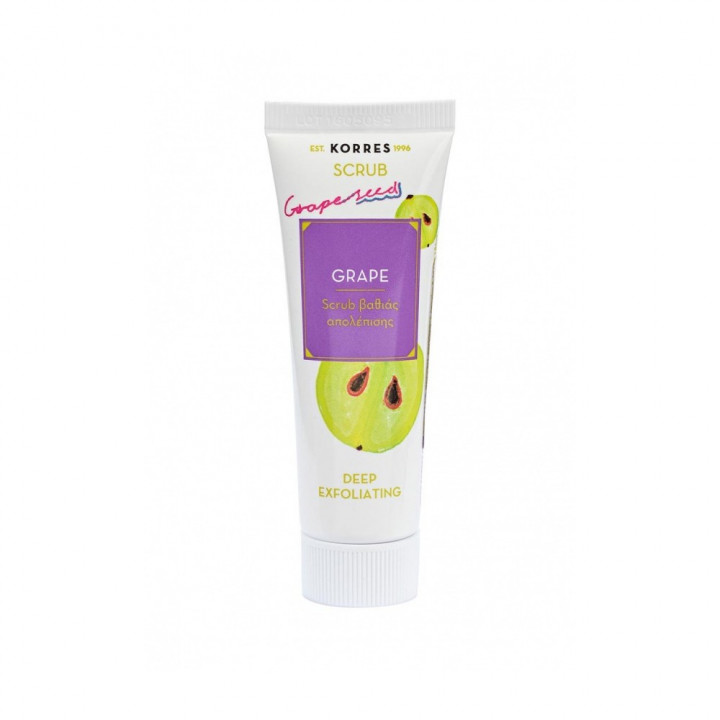 KORRES GRAPE DEEP CLEANSING SCRUB 18ML
