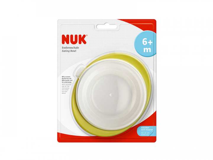 Nuk Easy Learning Eating Bowl 2 Lids