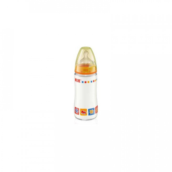 Nuk First Choice Glass Bottle Silicon 240ml