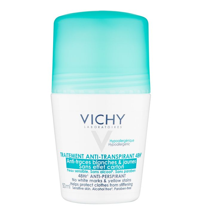Vichy No Marks Roll-On Deodorant 50ml