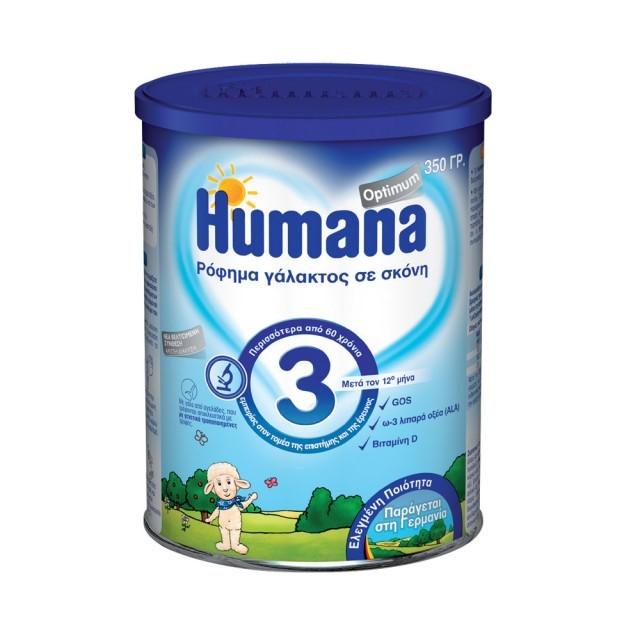 HUMANA 3 OPTIMUM TIN 350G