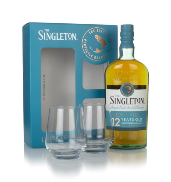THE SINGLETON WHISKY 70CL + 2 GLASSES