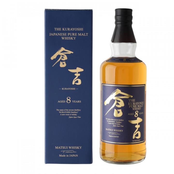 THE MATSUI KURAYOSHI 8Y.O PURE MALT WHISKY 70CL