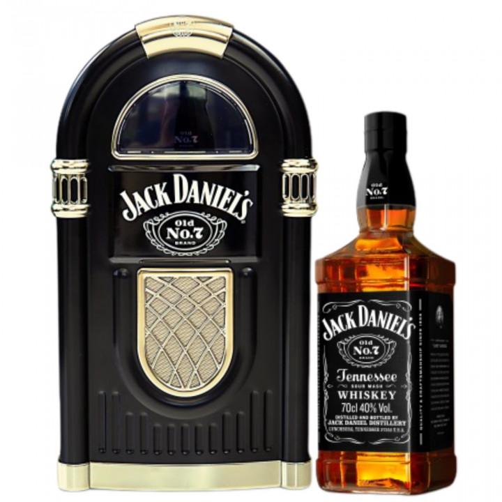 JACK DANIELS JUKEBOX CASE BOURBON WHISKEY 70CL