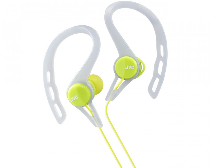 CLIP INNER EAR HEADPHONES / GREEN 9,0MM