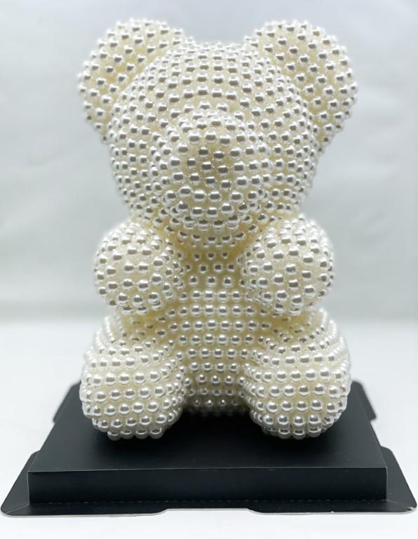 Rose Bear Pearl  - White