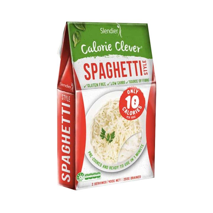 Slendier - Calorie clever spaghetti style