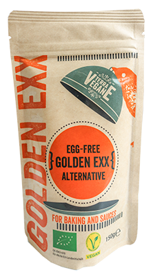 Terra Vegane - Egg-free golden exx alternative