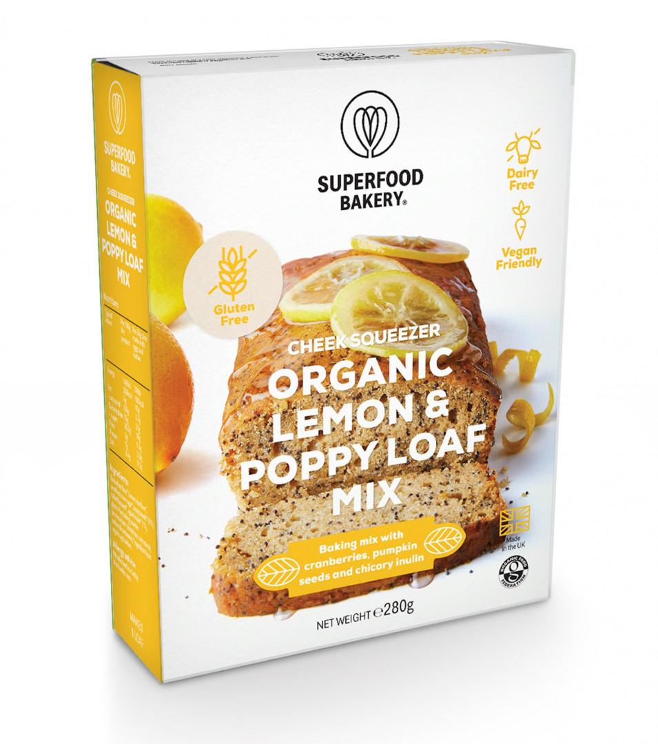 Superfood Bakery - Zesty cheer organic lemon & poppy loaf mix