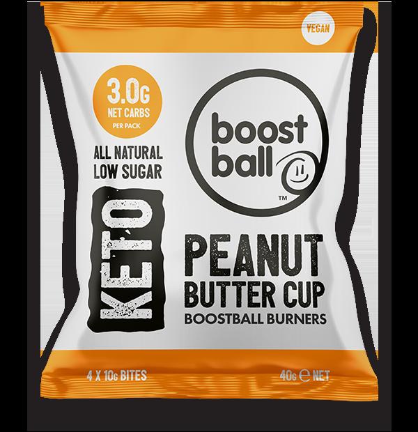 Boostballs - Keto Peanut Butter Bites - 40g