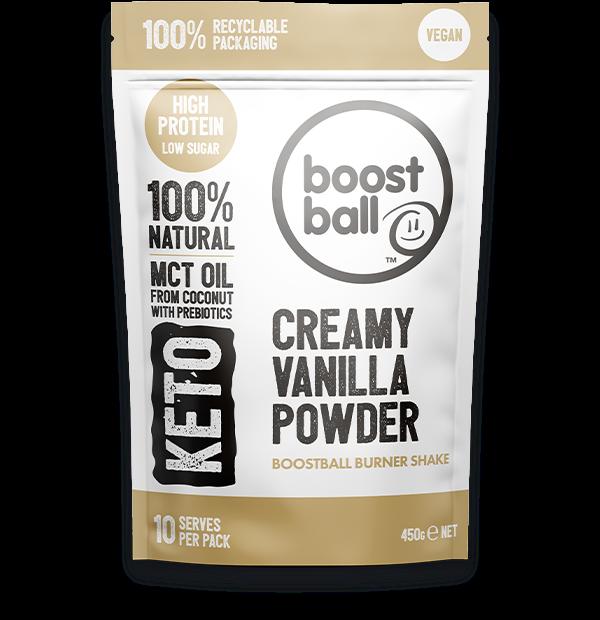 Boostballs - Creamy Vanilla Powder - 450g