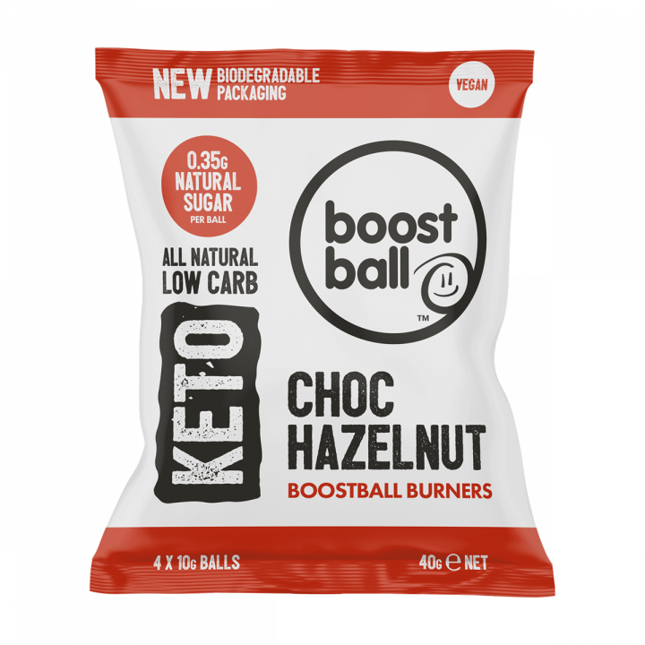 Boostballs - Keto Chocolate Hazelnut Balls - 40g