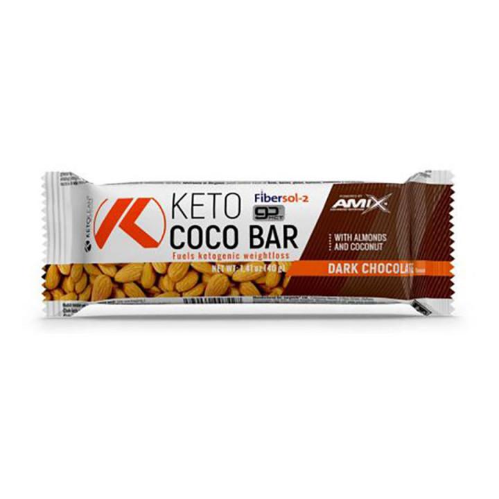 Amix - KETO WHITE CHOCO BAR 40GR