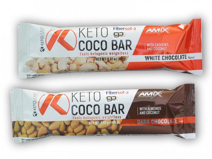 Amix - KETO D/CHOCO BAR 40GR