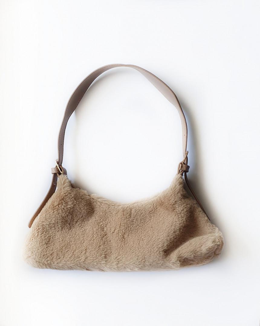 Betty fur bag (beige)