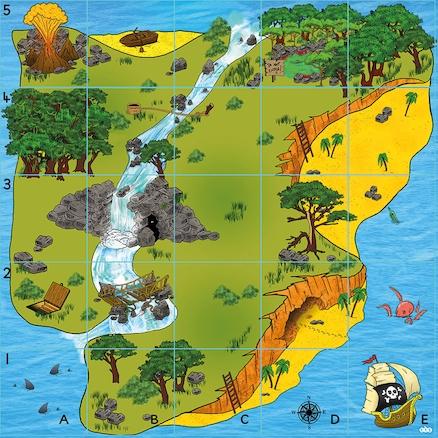 Χαλάκι για Bee-Bot - Το Νησί του Θησαυρού