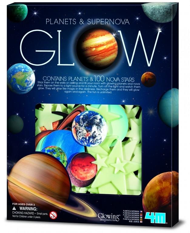 Φωσφορούχοι πλανήτες / Nova Stars 100pcs