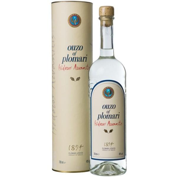 PLOMARI OUZO 700ML + 1 GLASS