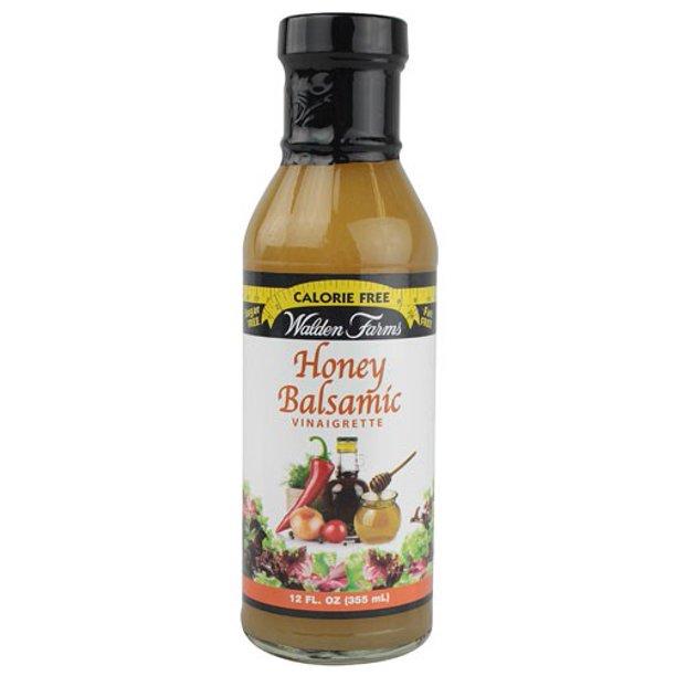 WALDEN FARMS HONEY BALSAMIC VINAIGRETTE 355ml