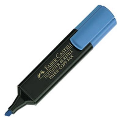 FABER-CASTELL HIGHLIGHTER - BLUE