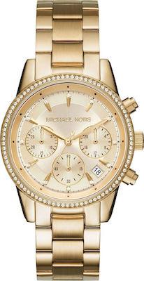 Michael Kors Ritz Gold Women's Watch