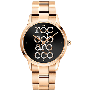 ROCCO BAROCCO SIGNATURE ROSEGOLD - SS Case Ø 36 mm - SS Solid Strap