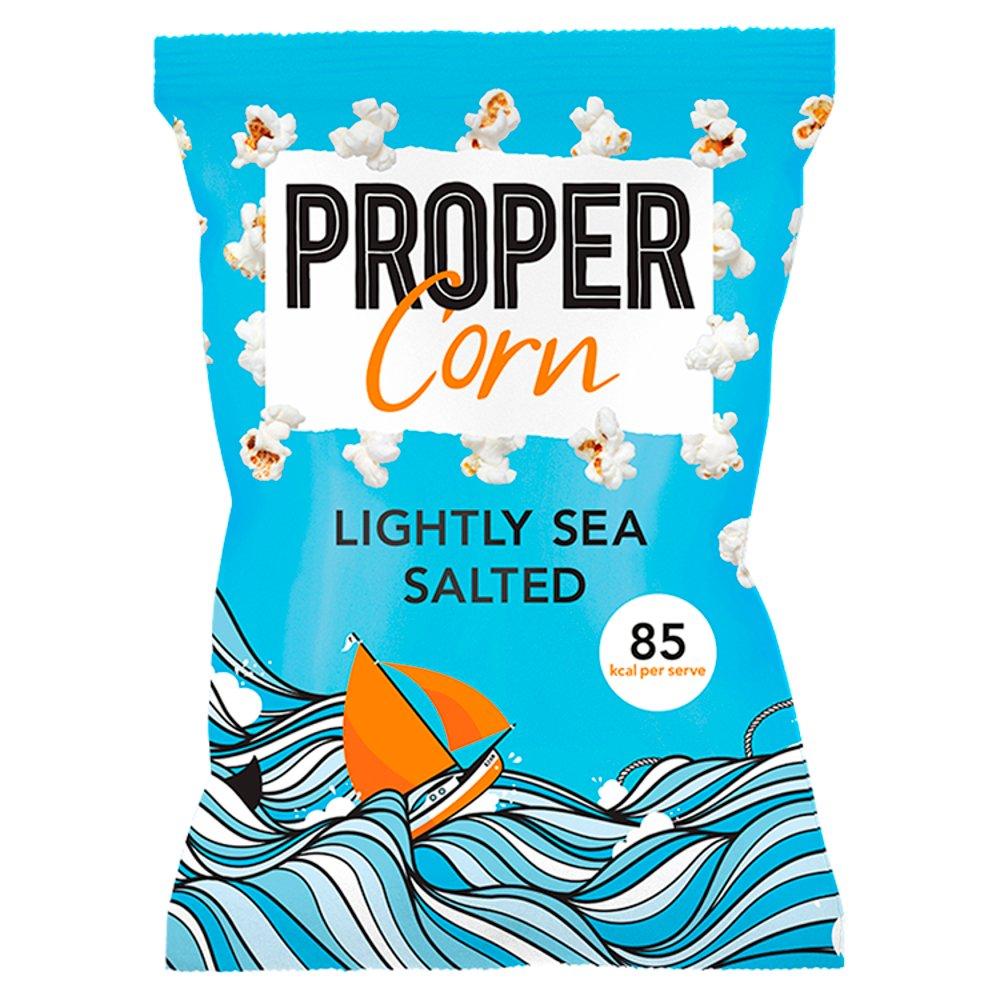 PROPER CORN LIGHTLY SEA SALTED 70G
