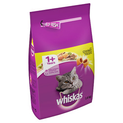 whiskas 1.4kg yellow