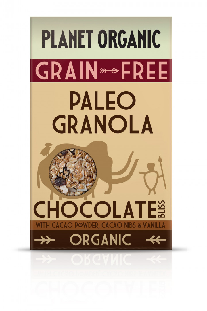 PLANET ORGANIC PALEO GRANOLA CHOCOLATE BLISS 350G