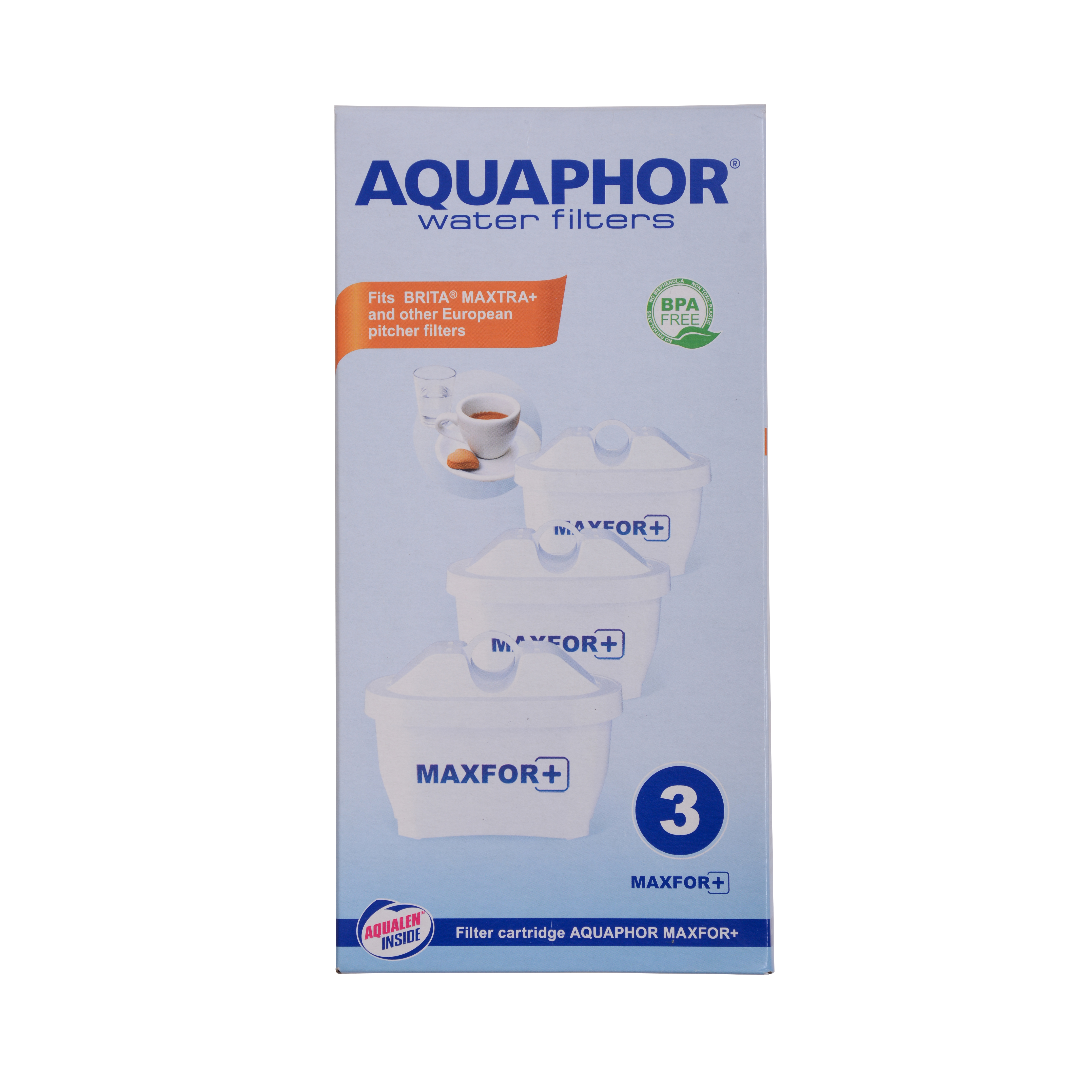 Replacement filter Cartridge for water Jug (set of 3)