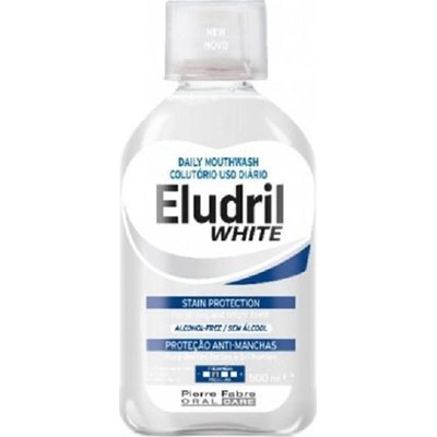 Eludril White Mouthwash 500ml