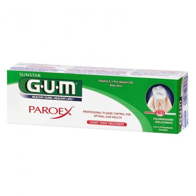GUM Gel Paroex Chx 0.12% 75ml