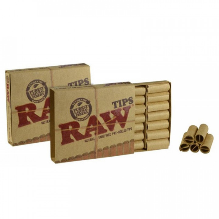 RAW PREROLLED TIPS 20S