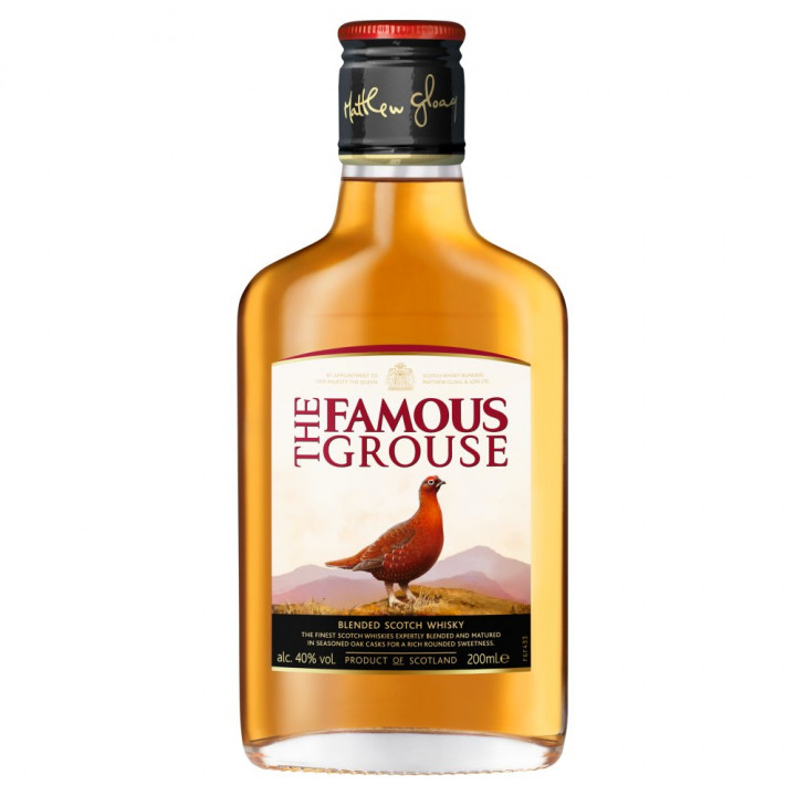 WHISKY THE FAMOUS GROUSE 20CL