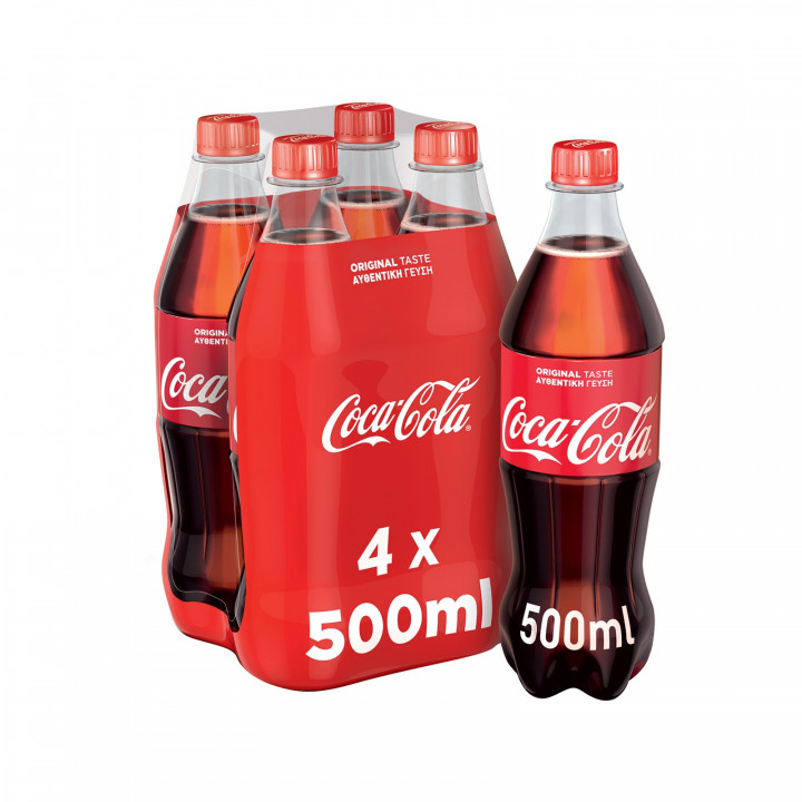 COCA COLA 500ML 1X4