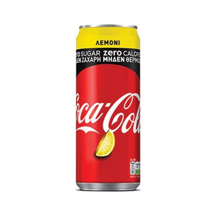 COCA COLA ZERO LEMONI 330ML