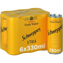 SCHWEPPES SODA LEMON 330ML X 6