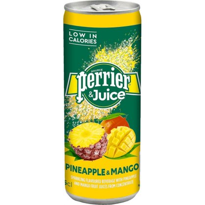 PERRIER ANANA MANGO WATER 250ML