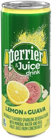 PERRIER LEMON GUAVA WATER 250ML