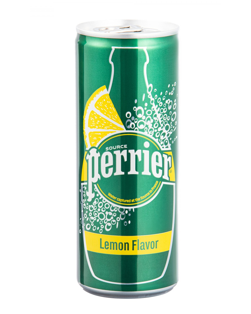 PERRIER LEMON MINERAL WATER 250ML