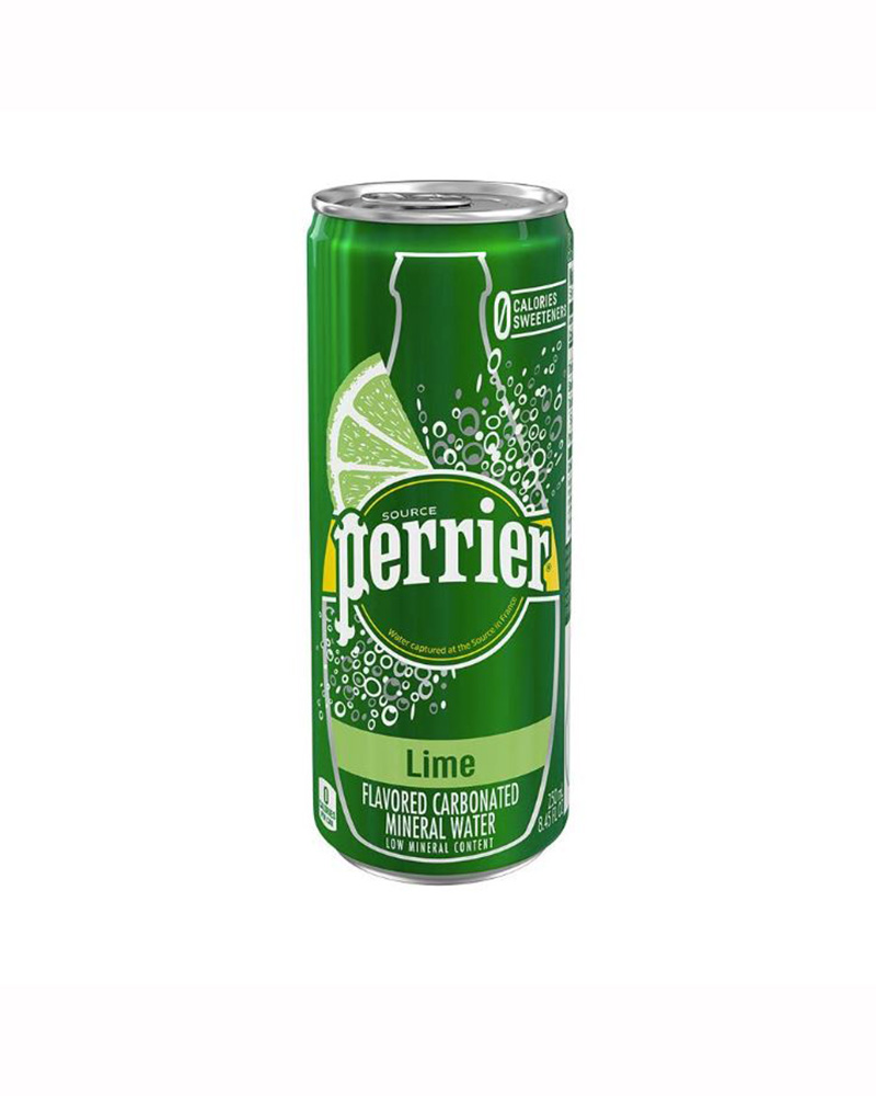PERRIER LIME MINERAL WATER 250ML