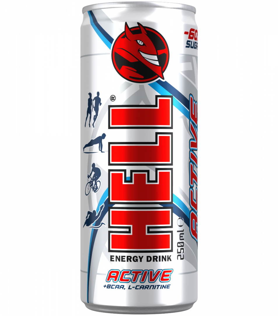 HELL ENERGY ACTIVE 0.25L