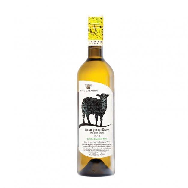LAZARIDI SEMI/SAU BLANC BLACK SHEEP 75CL
