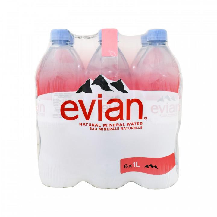 EVIAN 1L X 6