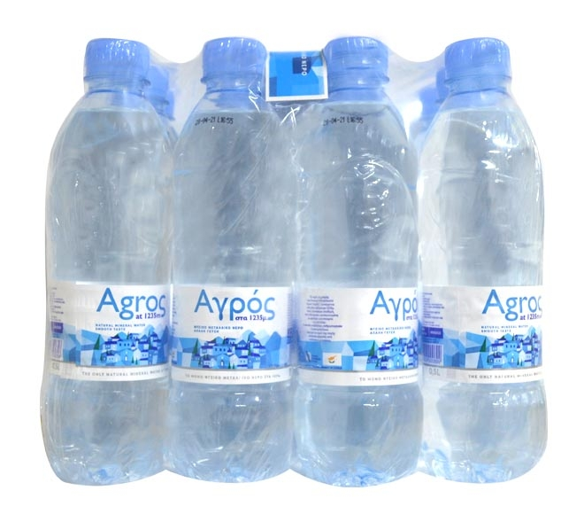 AGROS WATER 0.5L X 12